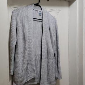 Old Navy Light Grey Cardigan